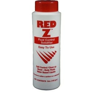 Red-Z Fluid Solidifier Shaker Pack