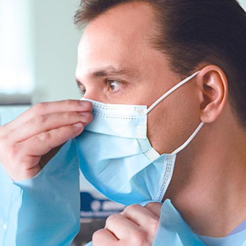 P2/N95 Surgical Mask. These face masks have tested filtration to N95 standard. Use it once and throw it away for best infection prevention.